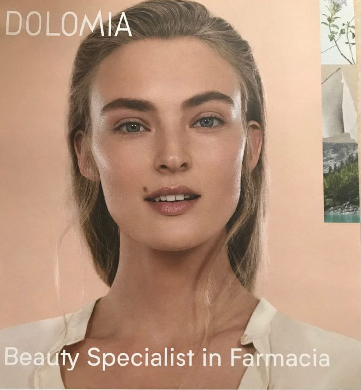 Evento Dolomia Skin care